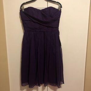 JCREW Purple Chiffon Party Dress Style 1268